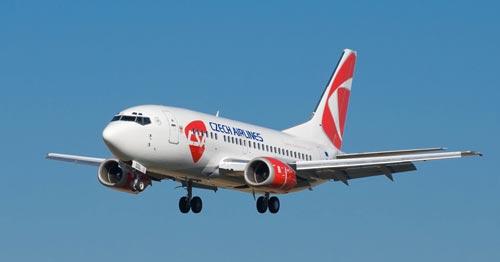 Чешские власти снова попробуют продать «Чешские авиалинии». Самолет ČSA. Фото с официального сайта.  8 ноября 2012 года