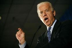 Вице-президент США уже в Чехии. Вице-президент США Джо Байден. Фото Mark Hirsch/Getty Images  22 октября 2009