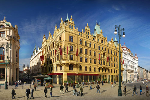 Восемь отелей уровня четыре-пять звезд открылись в центре Праги за год. Отель Kings Court. Фото с официального сайта  10 ноября 2009