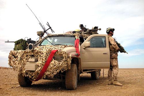 Скандал в чешской армии: военные в Афганистане носили каски с нацистской символикой. Чешские военные в Афганистане. Фото с сайта army.cz  11 ноября 2009