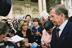 Вацлав Гавел вспомнил о бархатной революции и покритиковал Россию. Вацлав Гавел  Фото: CzechTourism  14 ноября 2009