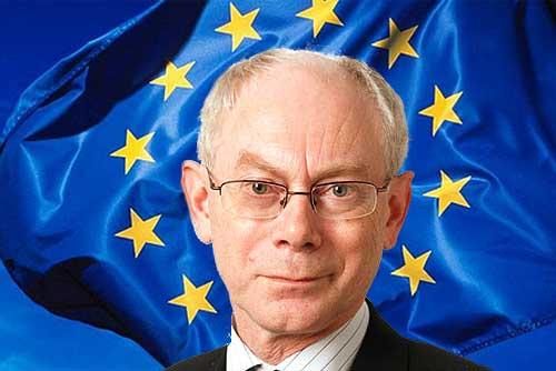 Первым главой Европейского союза стал премьер-министр Бельгии. Герман ван Ромпей  Фото: коллаж Utro.cz  19 ноября 2009