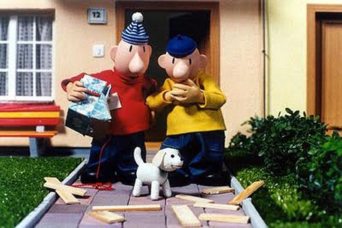 Выставка кукол-кинозвезд пройдет в Страговском монастыре. Кадр из мультфильма о Пате и Мате  23 ноября 2009 года