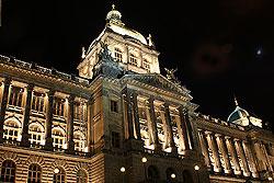 Национальный музей в Праге будет открыт в Рождество и Новый год.  Национальный музей.  Фото: Александра Кириченко.  11 декабря 2009