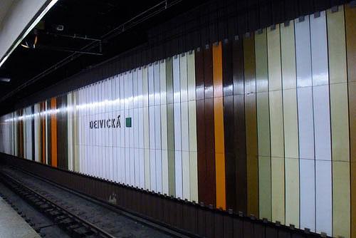 Четыре новых станции пражского метро начнут строить в марте. Станция Dejvická перестанет быть конечной  Фото: Александра Кириченко  22 декабря 2009
