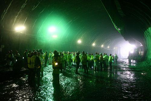 ЮНЕСКО проверит, как Прага охраняет свое культурное наследие. Строящийся тоннель Бланка вызывает вопросы у ЮНЕСКО. Фото пресс-службы магистрата Праги  25 января 2010 года