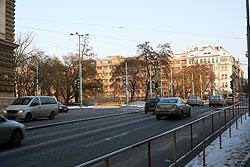 Одно из самых проблемных мест Праги собираются облагородить.  Карлова площадь в Праге.  28 января 2010