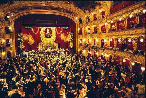 Государственная опера Праги готовится к благотворительному балу. Бал в пражской опере  Фото: Portál hlavního města Prahy  1 февраля 2010