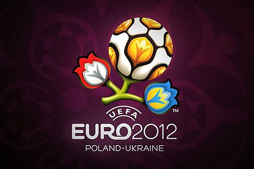 За путевку на ЧЕ-2012 чешские футболисты сразятся с чемпионами-2008. Официальная эмблема Евро-2012  7 февраля 2010