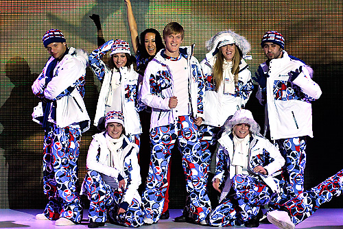 Олимпийская форма сборной Чехии вызвала массу обсуждений после открытия Игр. Форма олимпийской сборной Чехии. Фото Václav Mudra ml. с официального сайта Чешского олимпийского комитета  15 февраля 2010 года