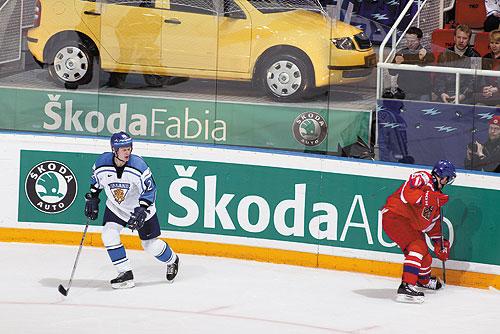 Олимпийские голы чешской хоккейной сборной можно будет увидеть в 3D. Škoda Auto - спонсор хоккейной сборной Чехии  16 февраля 2010