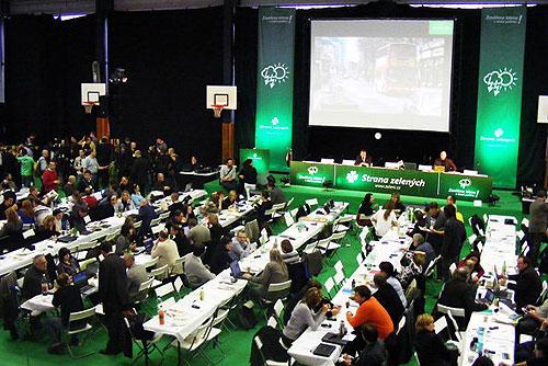 Чешская Партия зеленых выступает за право однополых пар на усыновление. Съезд Партии зеленых Чехии. Фото с официального сайта SZ  17 февраля 2010