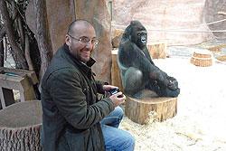 Москвичей познакомят с Пражским зоопаркам и реалити-шоу горилл. Директор Пражского зоопарка Мирослав Бобек погостит в Москве  18 февраля 2010