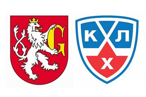 Чешские христианские демократы связали хоккей с оргпреступностью. Гербы города Градец-Кралове (Hradec Králové) и Континентальной хоккейной лиги  21 февраля 2010