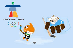Олимпиада в Ванкувере. 28 февраля. Символика Олимпийских игр - 2010 в Ванкувере. © VANOC/COVAN  1 марта 2010