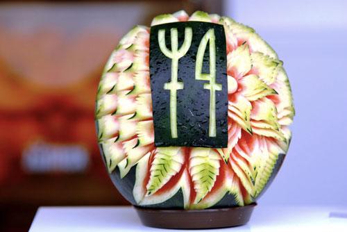 Пражский кулинарный фестиваль состоится в конце мая. Съедобный логотип Prague Food Festival. Фото с официального сайта фестиваля praguefoodfestival.cz  18 марта 2010