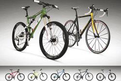 Škoda Auto представила коллекцию велосипедов. Коллекция велосипедов Škoda. Фото пресс-службы автоконцерна  14 апреля 2010