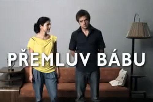 """Поддержавшим правых в Чехии обещают бесплатное порно, а зеленых - штрудель. Скриншот из ролика """"Убеди бабушку...""""  26 апреля 2010"""