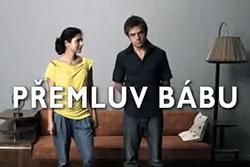 """Поддержавшим правых в Чехии обещают бесплатное порно, а зеленых - штрудель.  Скриншот из ролика """"Убеди бабушку..."""".  26 апреля 2010"""