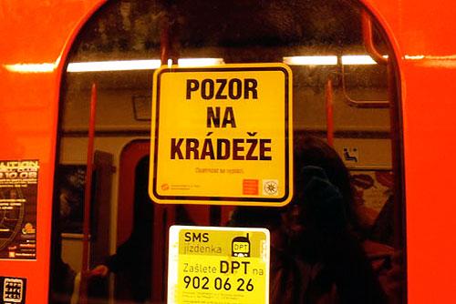 В центре Праги распоясались квартирные воры. Жителей и гостей Праги предупреждают о карманниках в метро  Фото: Александра Кириченко  29 апреля 2010