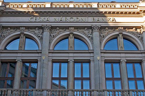 Чешский Национальный банк проведет день открытых дверей. Здание Национального банка Чехии  Фото: Александра Кириченко  6 мая 2010