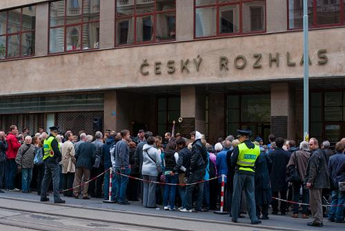 Чешское радио приглашает на экскурсии 15 мая. Здание Чешского радио на Виноградской улице  Фото: Василий Мазный  11 мая 2010