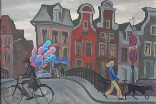 Выставка художников-передвижников XXI века пройдет в Праге. Картина А.Кузнецова, одного из участников выставки  27 мая 2010