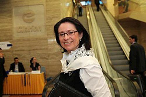 Новый спикер парламента Чехии будет учить депутатов вежливости в режиме строгой экономии. Новый спикер нижней палаты парламента Чехии Мирослава Немцова. Фото с сайта ODS  24 июня 2010