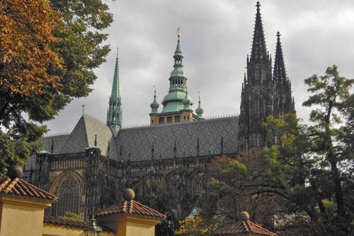 Южную башню собора Святого Вита открыли для посещений. Собор Святого Вита на Пражском Граде  Фото: Александра Кириченко  14 июля 2010