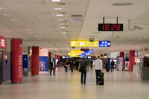 В пражском аэропорту Рузине проходит выставка чешской моды. В пражском аэропорту Рузине  Фото: Александра Кириченко  26 июля 2010