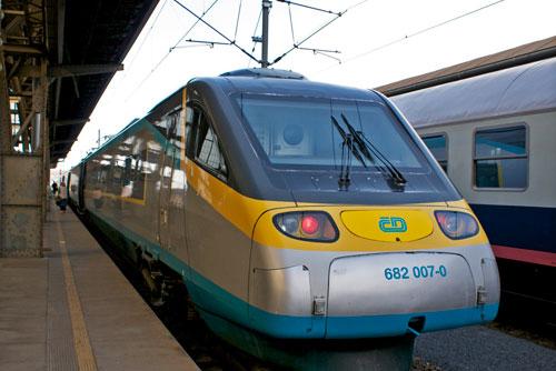 Чешские железные дороги будут платить компенсации за опоздания поездов. Поезд Чешских железных дорог  Фото: Александра Кириченко  30 августа 2010