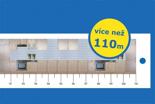В Брно IKEA соберет самую длинную кухню в Чехии. Фрагмент изображения с сайта ikea.cz  31 августа 2010