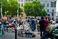 Пражские Винограды на один день станут пешеходной зоной. На площади Мира нередко проходят различные мероприятия, например блошиные рынки  Фото: Василий Мазный  15 сентября 2010