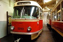Пражский Музей общественного транспорта проведет день открытых дверей.  В Музее общественного транспорта Праги.  Фото: Александра Кириченко.  16 сентября 2010
