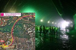 """Прогуляться по строящемуся автомобильному тоннелю """"Бланка"""" в Праге смогут все желающие.  В автомобильном тоннеле """"Бланка"""" пройдут три варианта экскурсий.  20 сентября 2010"""