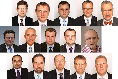 Чехи назвали лучших и худших министров правительства Нечаса. Члены правительства Чехии  29 сентября 2010