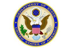 Госдепартамент США предупредил американцев о возможности терактов в Европе. Эмблема Госдепартамента США  3 октября 2010