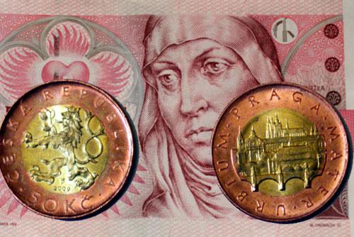 Чехия выводит из обращения банкноту в 50 крон. Монеты в 50 крон вытеснят купюры  Фото: коллаж Utro.cz  8 октября 2010 года