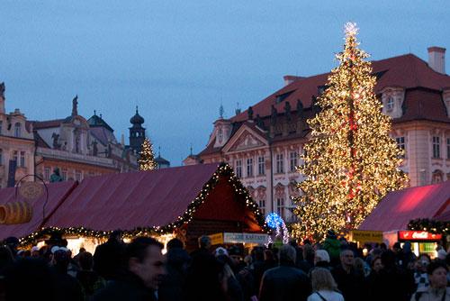 Прага объявила график рождественских ярмарок 2010/2011. Рождественская ярмарка на Староместской площади Праги в 2009 году  Фото: Александра Кириченко  8 ноября 2010