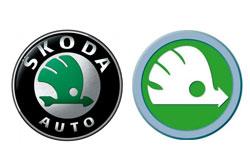 Škoda Auto готовится сменить логотип. Текущий логотип Škoda Auto и предполагаемый новый  17 ноября 2010