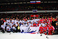 Чешские и российские политики, спортсмены, артисты и бизнесмены сразились в хоккей в Москве. Участники благотворительного хоккейного матча в Москве. Фото с сайта Восточного административного округа столицы  22 ноября 2010