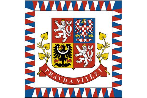 Чехия планирует перейти к прямым выборам президента в 2013 году. Флаг президента Чешской Республики  23 ноября 2010