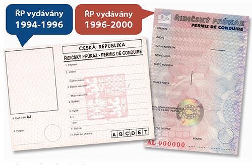 В Чехии образовались многочасовые очереди желающих обменять водительские удостоверения. Чешские водительские удостоверения, подлежащие замене. Изображение с сайта vymentesiridicak.cz  1 декабря 2010