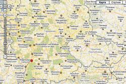 Чешские супруги за 15 лет награбили в немецких банках 2 миллиона евро. В немецком Карлсруэ застрелены грабители из Чехии. Фрагмент карты Google  11 декабря 2010