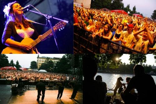 8-й музыкальный фестиваль United Islands пройдет в Праге в конце июня 2011 года. Музыкальный фестиваль United Islands проходит на островах Влтавы. Фото пресс-службы мероприятия  27 декабря 2010 года