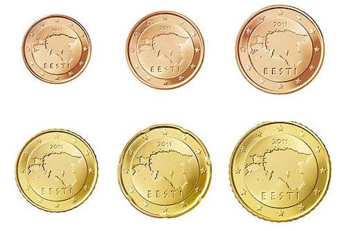 Эстония стала 17-й страной, перешедшей на евро. Эстония перешла на евро  2 января 2011