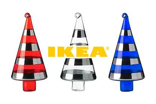 Жители Брно вернули в IKEA половину «использованных» рождественских елок. Рождественская продукция IKEA. Изображение с сайта ikea.cz  18 января 2011