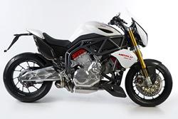 В Чехии создали супермотоцикл за миллион крон. Мотоцикл FGR 2500 V6 Midalu. Фото с сайта motofgr.com  20 января 2011