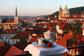 Пражский отель признан лучшим в мире по версии сайта TripAdvisor. Вид из пражского отела U Zlaté studně. Фото с сайта goldenwell.cz  20 января 2011
