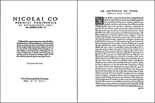 """Пропавшая 100 лет назад книга Коперника вернулась к чешским монахам. Страницы из книги Николая Коперника De revolutionibus orbium coelestium (""""Об обращениях небесных сфер"""")  24 января 2011"""